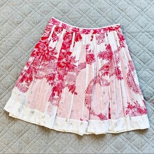 🆕🦋 Anthro Odille vintage style floral skirt